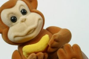 Opica z banano