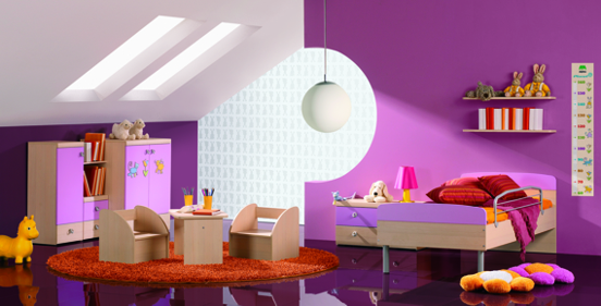 Otroška soba, foto Alples