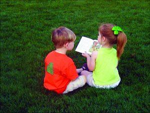 Razvoj govora otroka skozi branje