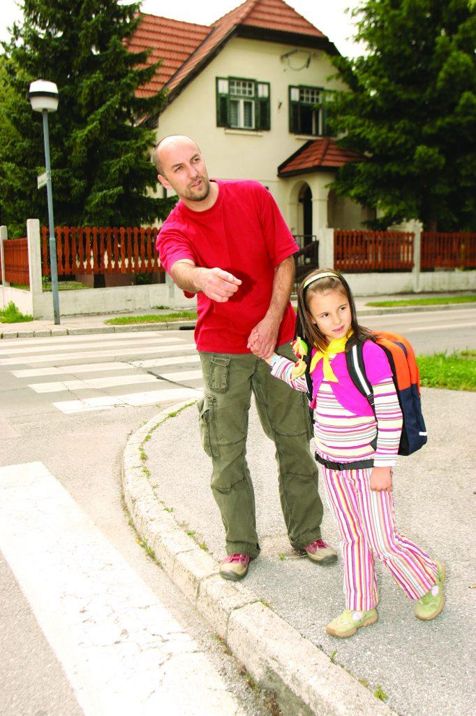 Otrok v prometu - pešec