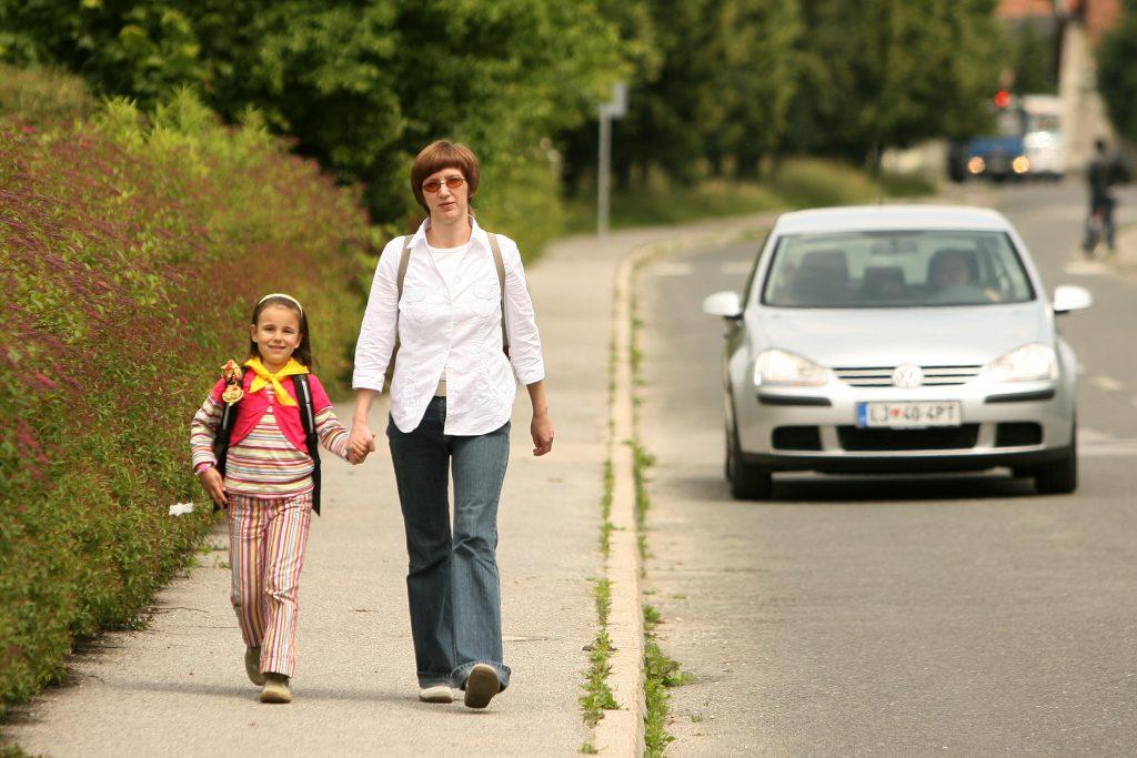 Otrok v prometu